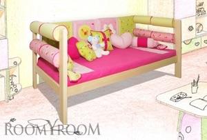 Как сделать диванчик из детской кроватки