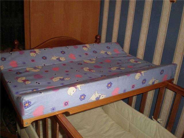 Как сделать пеленальную доску на кроватку своими руками 49