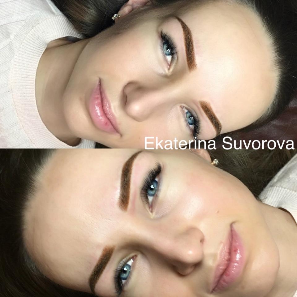 Естественный перманентный макияж