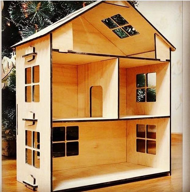 Домик из дерева для кукол фото - Деревянный кукольный домик купить дом для кукол из дерева