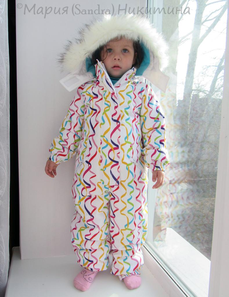 Полукомбинезон для девочки зимний сшить
