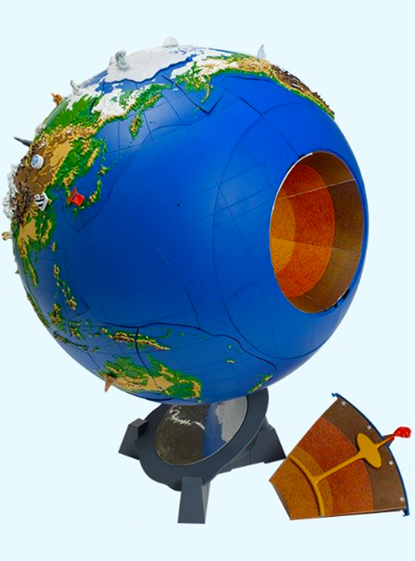 Как собрать чудо глобус