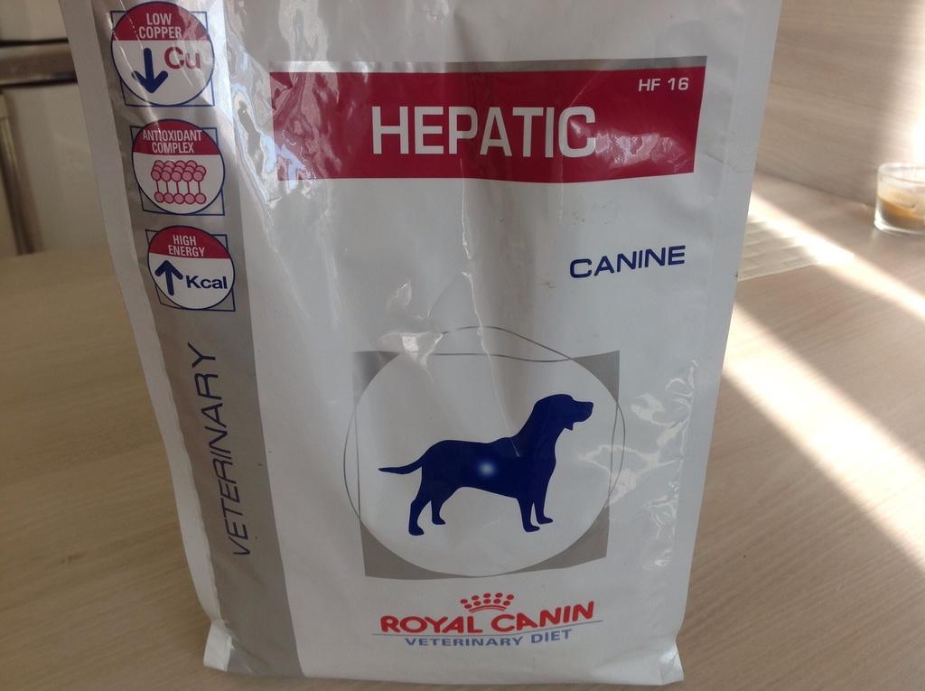 Корм royal canin hepatic 1 5