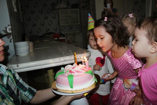 День рождения в кафе Андерсон в Марьино