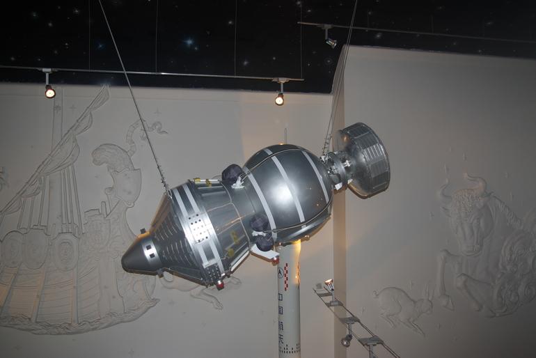 Космос  для  малышей  в  Музее  Космонавтики