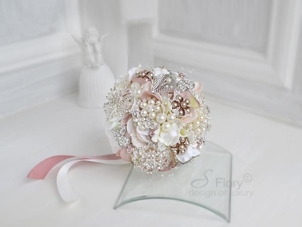 Брошь букеты flowers jewelry