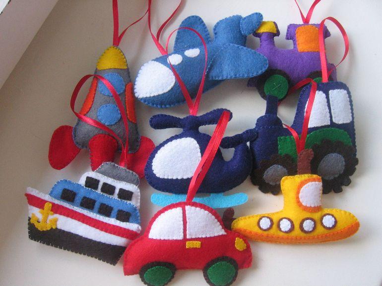 Игрушки из фетра для мальчиков своими руками