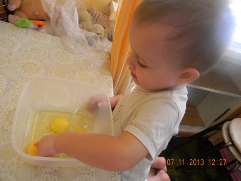 Как сынуля готовил патог (пирог)