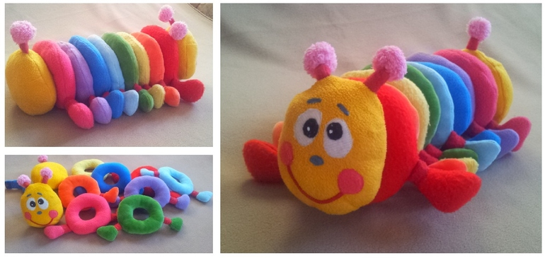 Развивающие детские мягкие игрушки своими руками
