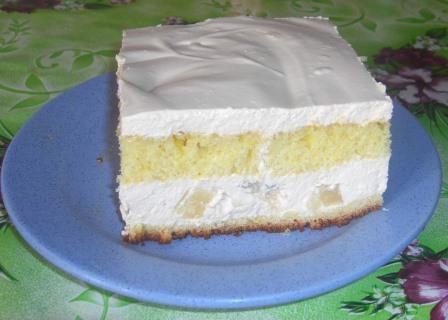 рецепт торта из ряженки с фото