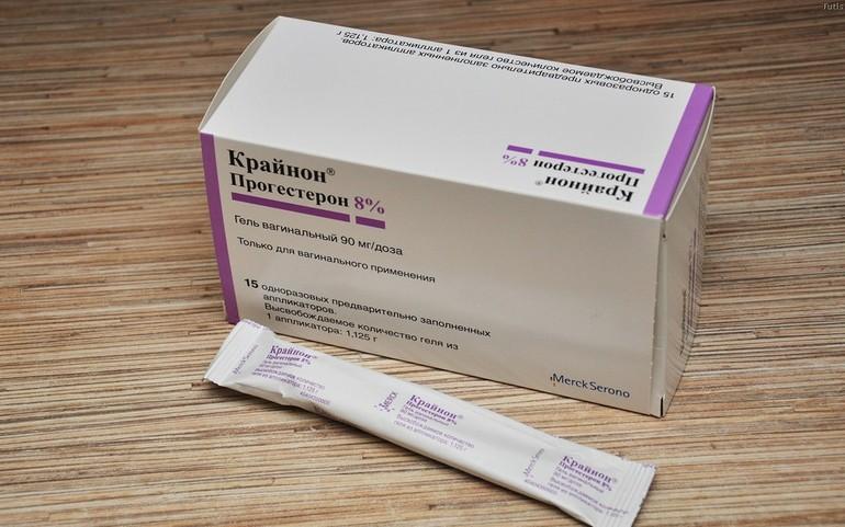 если прогестерон понижен в какой дозировке его назначают