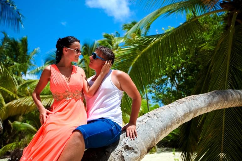 Медовый месяц в Доминикане.