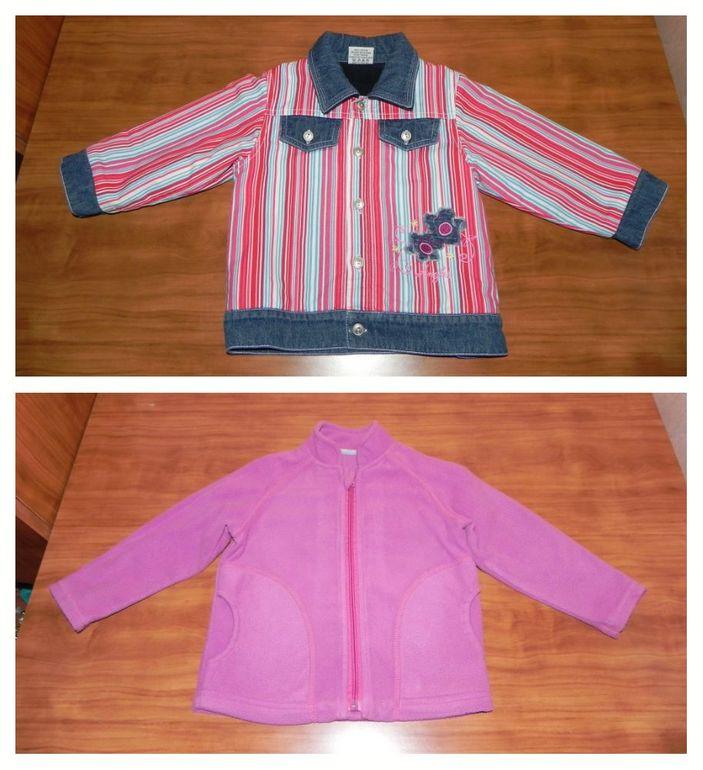 Куртка и флиска, размер 24 мес.