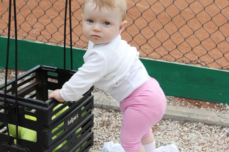 Большой теннис для малышей... и их родителей