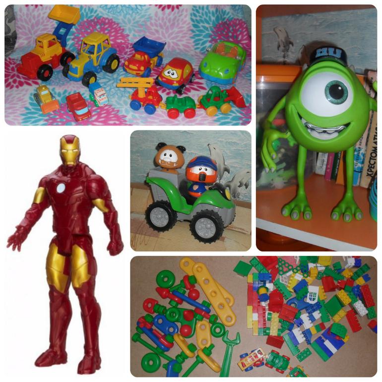 Игрушки для мальчика 1.5 года
