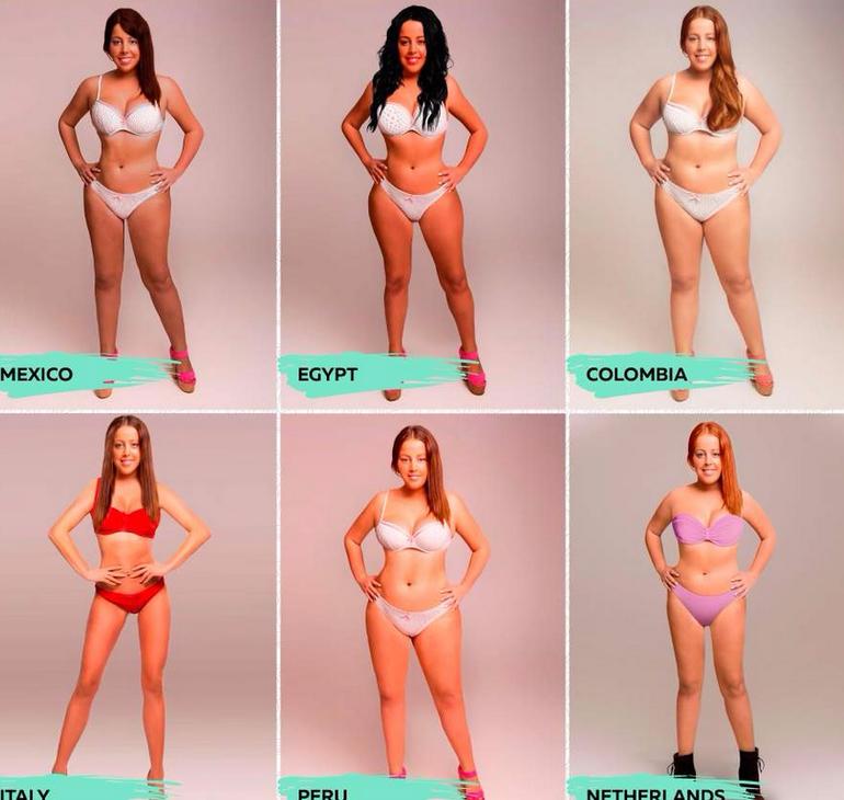 Как сделать идеальное тело для девушки