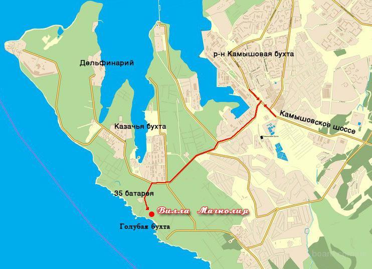 Электронную Карту Севастополя