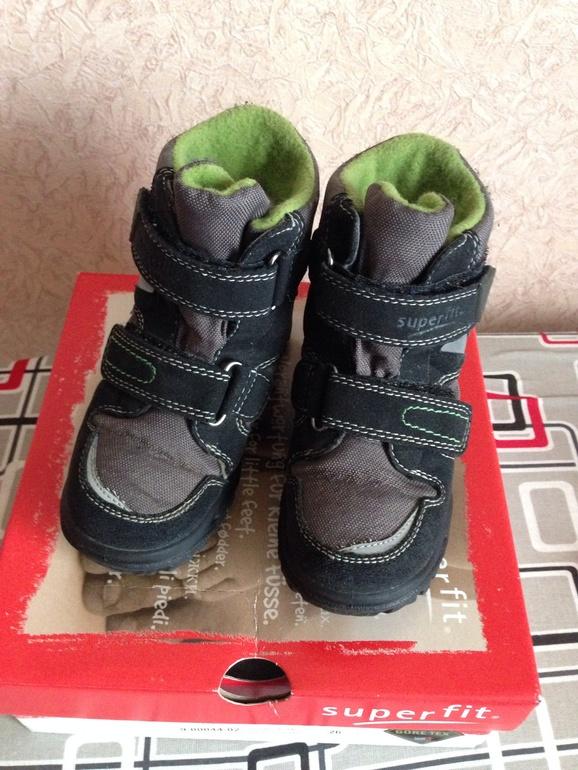 Зимние ботинки Суперфит, 26 р-р, 1200 р