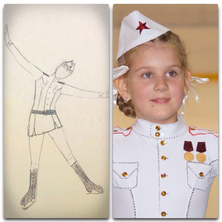 Реализация  образа  солдата  на  льду