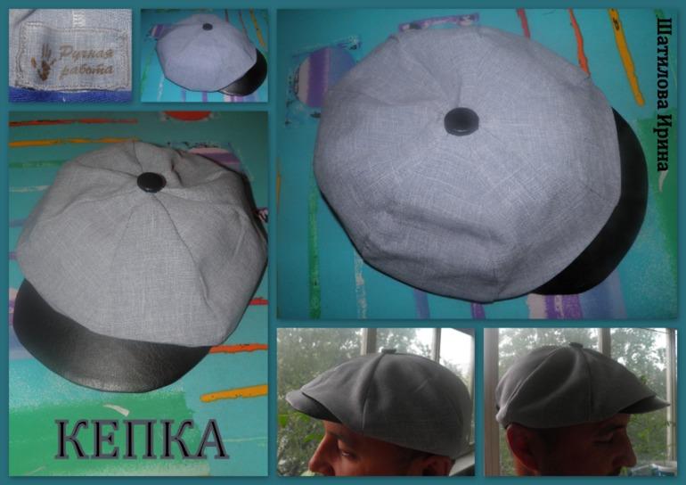 Как сделать кепку для мальчика
