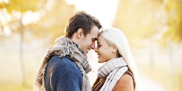 Начинающие отношения влюбленных