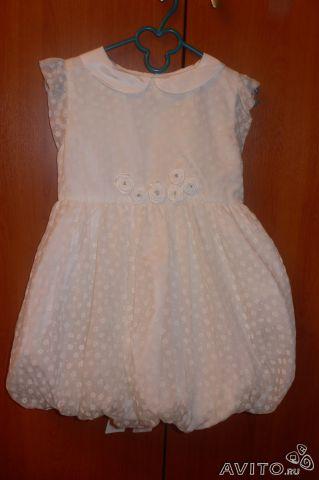 Шелковое платье (100% шелк) фирмы Gulliver размер 92-98 цена 1900