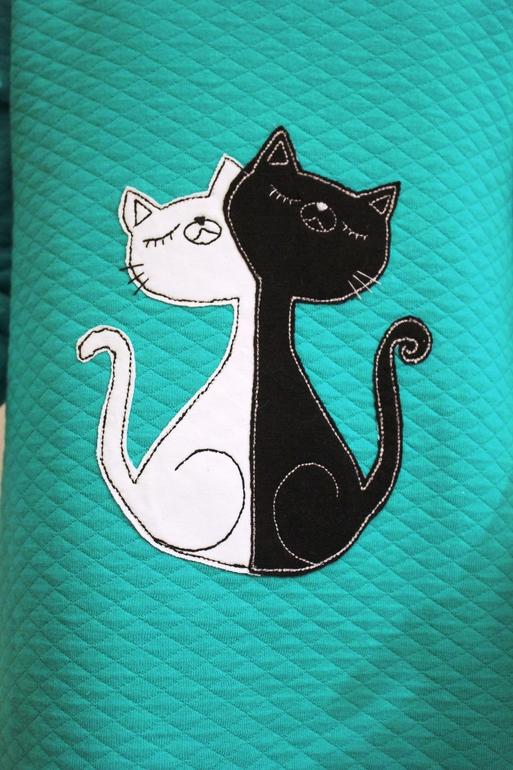 Аппликации с кошками