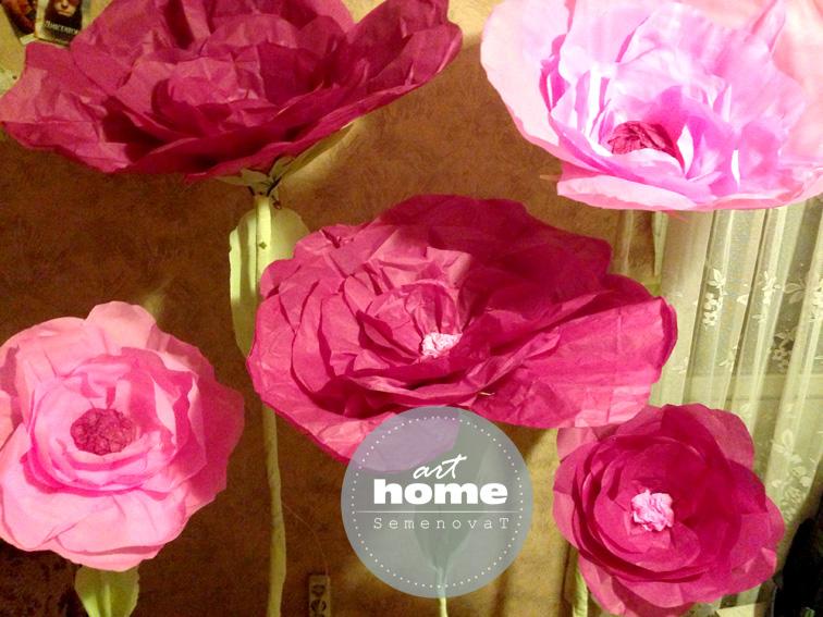 Бумага тишью - как использовать для изготовления цветов, помпонов 80