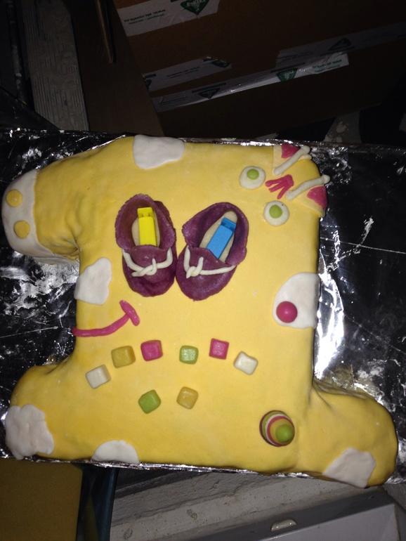 Мой первый праздничный торт