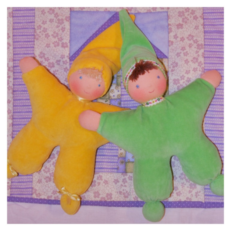 Вальдорфские лялечки гномики