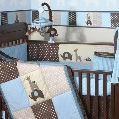Шикарное  постельное  белье  для  мальчика  Lambs  &  Ivy  Jake  б/у