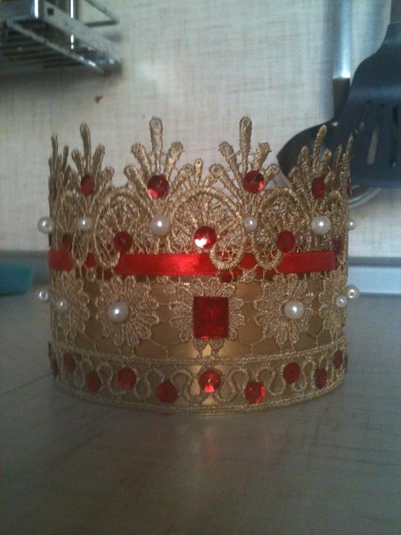 7 простых и эффектных корон для девочки принцессы 15