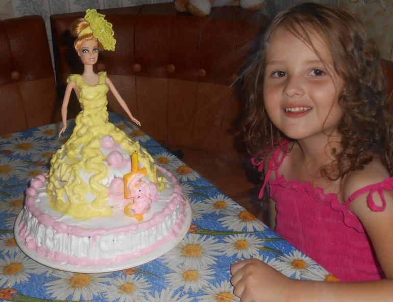 Торт дочери на 5 лет своими руками 24