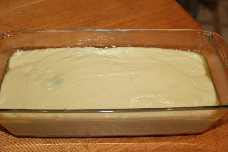 простой молочный кекс с маком