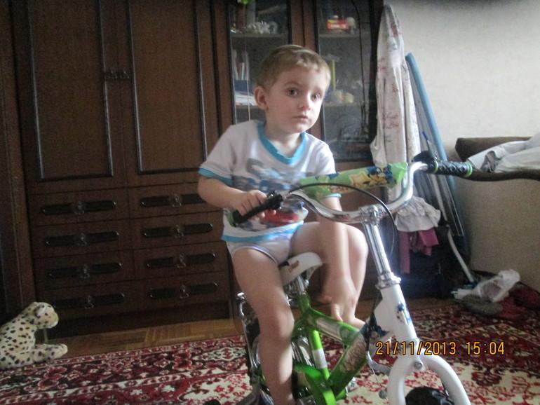 Спасибо Марии за велосипед!!!