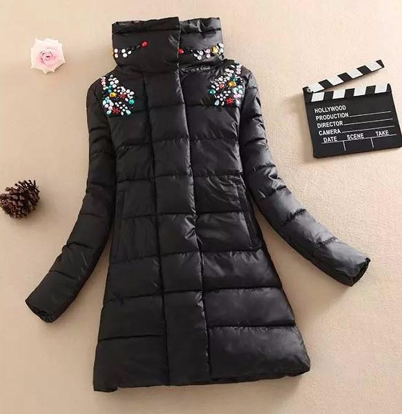 Декор зимней куртки своими руками