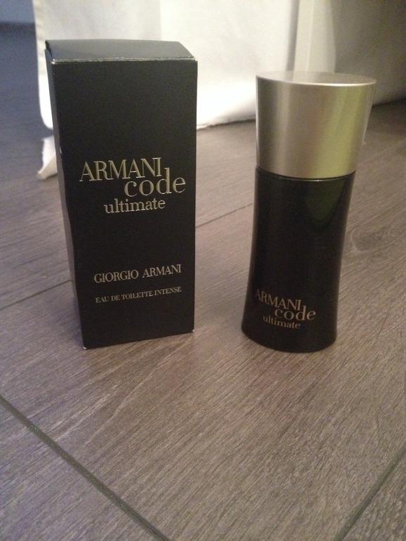Мужской парфюм Armani code