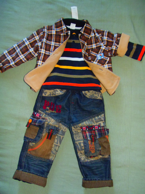 Вещи на мальчика от 1 до 3. Симпатичные комплекты.
