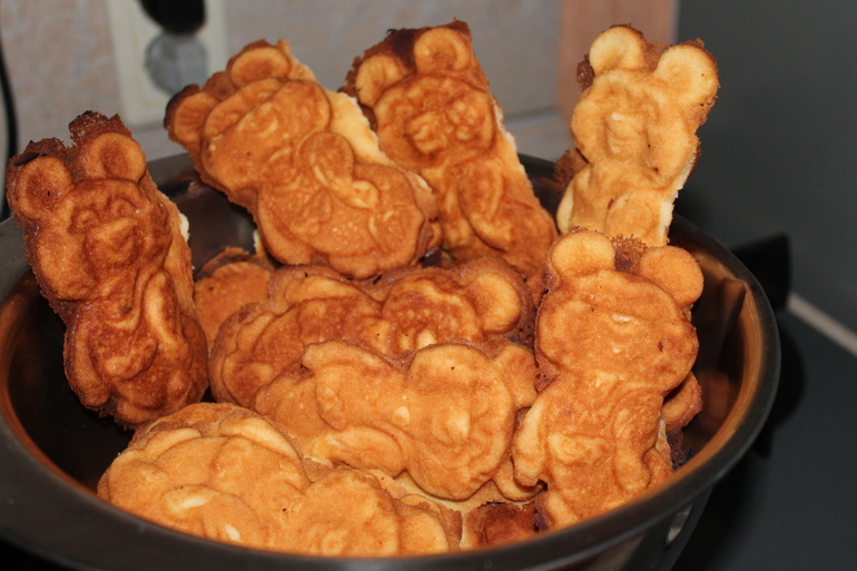 Рецепт печений на газу в форме с фото