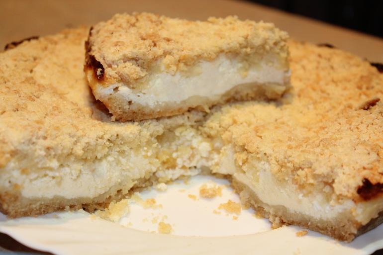 Рецепты тертого пирога с творогом