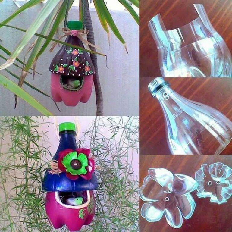 Изготовление из пластиковых бутылок своими руками