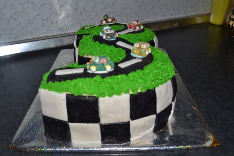 Торт своими руками для мальчика 3 года 41