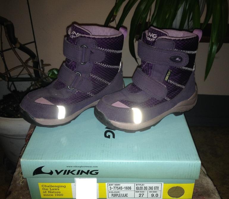 Зимние ботинки Viking 27 разм, 1600р