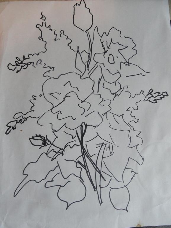 МК картины из лент (часть 1)