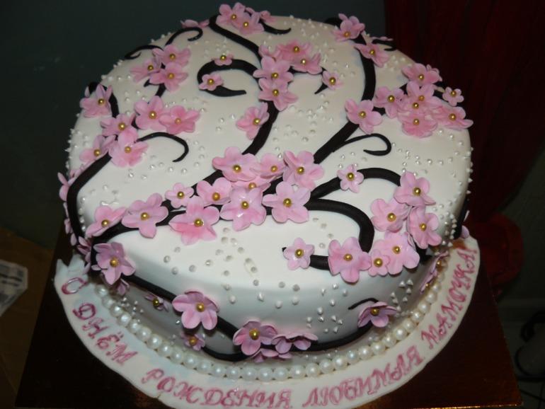 Простой шоколадный торт с фото