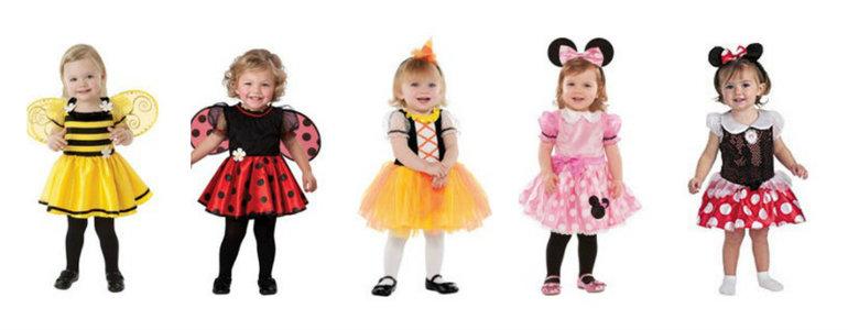 Новогодние костюмы для детей и фото