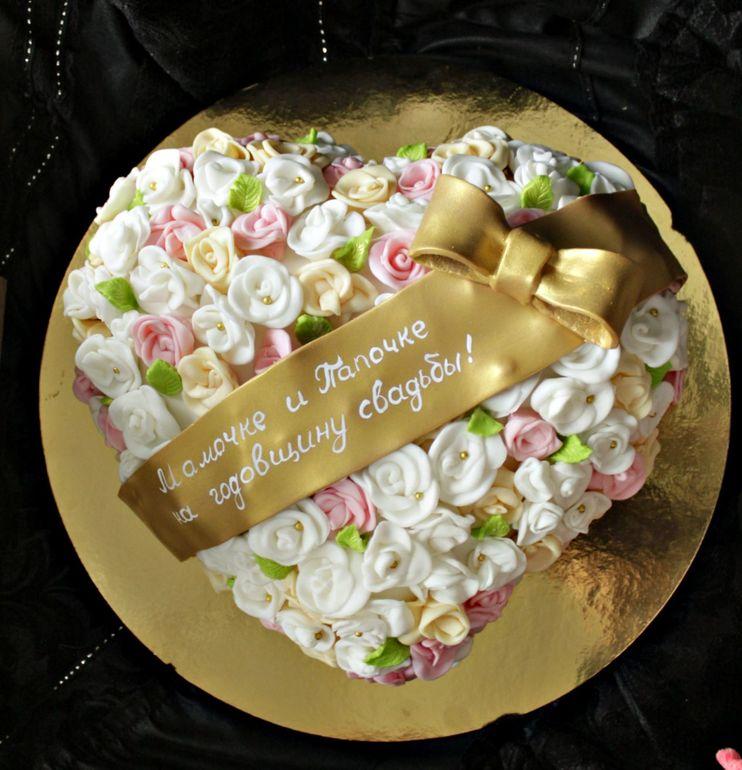 Фото юбилейно-свадебных тортов