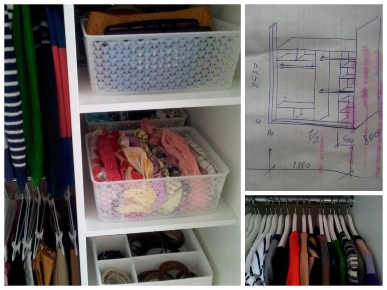 Организация пространства в шкафу своими руками 19
