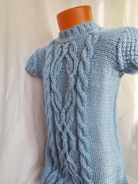 Платье-туника для дочки