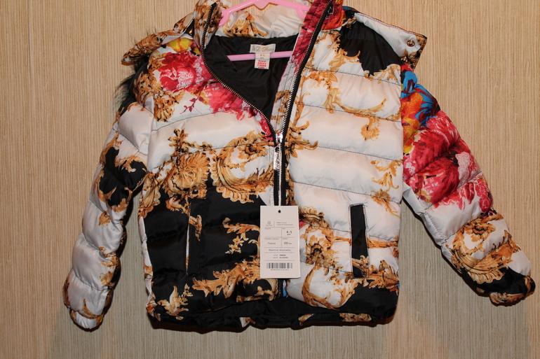 Новая куртка д/д размер 4-5 лет 2300руб. В наличии!!!